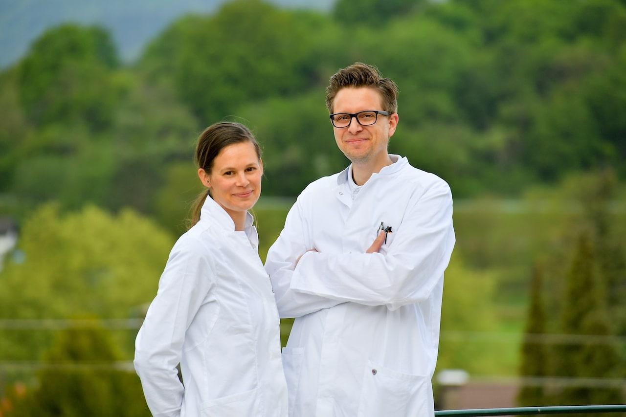Anna-Maria Fuchs und Dr. med. Elmar Grossmann